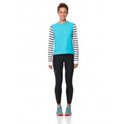 Women's Long Sleeve Sports Top - Blue